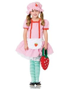00e606382 Strawberry Country Girl Child Costume for Halloween! Halloween Costumes For  Kids, Halloween Decorations,