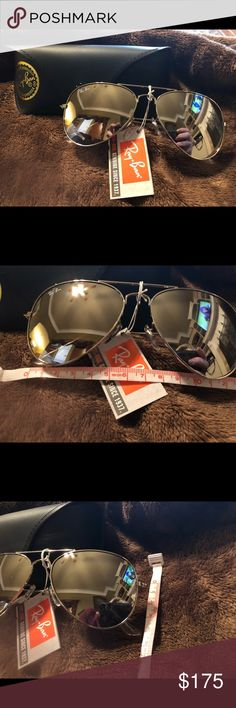 NWY Aviator Sunglasses NWT Aviator Sunglasses  Silver frame with silver lenses Accessories Sunglasses