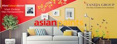Are you planning to paint your home :- Choose #TanejaGroup complete home solutions! Visit.tanejagroup.com