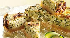 Cheesecake salata alle zucchine | Alice.tv