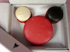 The Ladurée Mickey Mouse Macaroon from Disneyland Paris
