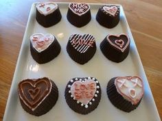 Gluten Free Chocolate Heart-Shaped Truffles for Valentine's Day: Gluten Free Chocolate Heart-Shaped Truffles