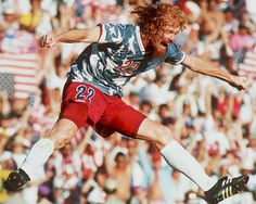 alexi lalas, american soccer. Man funk, and looks well earned.
