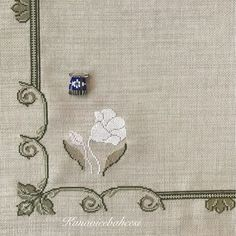 Cross Stitching, Cross Stitch Embroidery, Cross Stitch Patterns, Cross Stitch Heart, Cross Stitch Flowers, White Embroidery, Hand Embroidery Designs, Bargello, Crochet Stitches