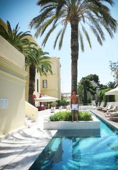 new post poseidonion grand hotel, Spetses island, Greece