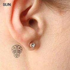 small skull tattoo - Google Search