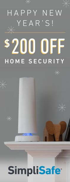 For one week only: Save $200 on SimpliSafe's most popular system of 2016--The Defender. Order now and get free shipping too. And with a 60-Day Money-Back Guarantee, feel certain your family is safe or your money back.