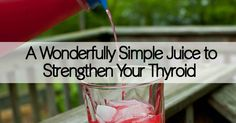 Drink for your Thyroid
