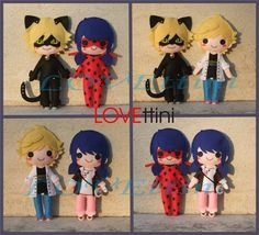 Miraculous Ladybug et Chat Noir by LOVEttini on DeviantArt