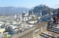 """Winkler Terrace, Salzburg - """"view"""" from Nonnberg Abbey and beginning of """"Do Re Mi"""""""