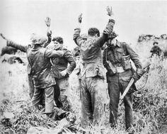 POW de la 12eme SS a Gruchy (à côté de Authie)