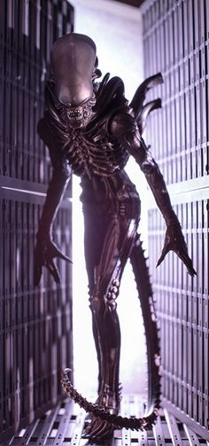 Alien Xenomorph Big Chap ARTFX+ Statue
