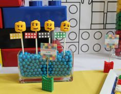 Legos Birthday Party Ideas | Photo 1 of 21 | Catch My Party