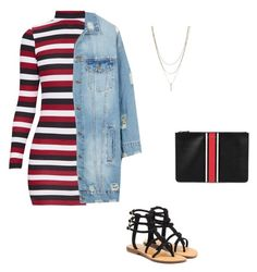Untitled #33 by jacqueline-jj on Polyvore featuring polyvore, fashion, style, LE3NO, Mystique, Givenchy and clothing