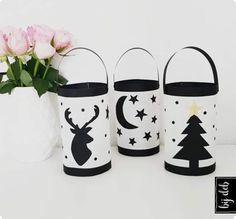 Christmas Wrapping, Kids Christmas, Merry Christmas, Diy Halloween, Lantern Craft, Cute Crafts, Diy Crafts, Navidad Diy, Winter Crafts For Kids