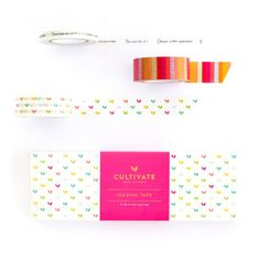 Cultivate What Matters Tending Tape Washi Tape