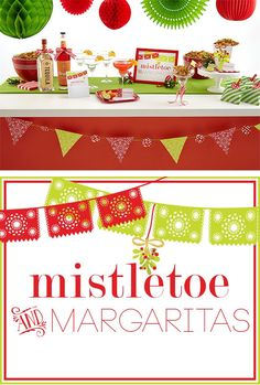Mistletoe and Margaritas Holiday Party!