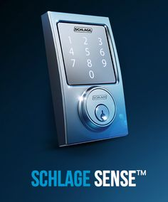 The Schlage Sense combines smartphone access (bluetooth) and a keypad to make the ultimate keyless entry system for your home.  So even if your iPhone dies you can still enter, provided you remember your pin. Availability and price TBD.