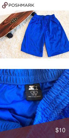 Boys Athletic Shorts Athletic shorts. Pockets. Comfy elastic waistband. Bottoms Shorts