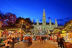 The best Christmas markets in Europe to visit this winter. From Prague to Budapest and Vienna to Copenhagen, whether you're after a fairytale setting, snow, stylish stalls or the best food and drink, GQ has you covered this Christmas. Best Christmas Markets Europe, Holiday Market, Christmas Travel, Christmas Fun, Vienna Christmas, Still Of The Night, Cities In Europe, Tom Cruise, Wanderlust Travel