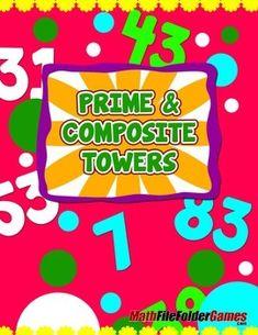 Prime & Composite Game http://www.teacherspayteachers.com/Product/Prime-Composite-Game-1264604