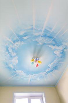 #airbrushing #ceiling #cloud