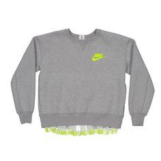High fashion sportswear should never go near the gym. NikeLab and Sacai play with fluidity, femininity and form | £205