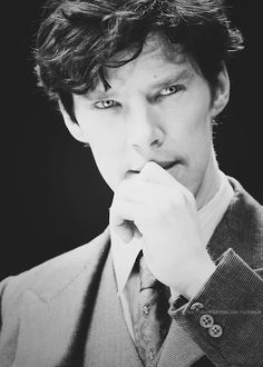 Benedict Cumberbatch. His eyes!