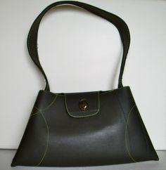 Handbag Maca made Recycled Rubber Tyre from Masmillas Recycled by DaWanda.com