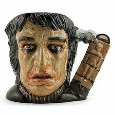 Royal Doulton Large Character Jug, Frankenstein D7052, Large