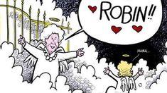 Cartoon of Barbara Bush reuniting with late daughter brings 'great comfort'