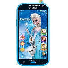 Russian English Language baby child sounding toy phones Cute kids girl's boy's electric music cellphone with earphone toys