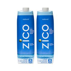 2-Pack Pure Premium Coconut Water by Zico  www.theteelieblog.com When hydration calls, ZICO natural coconut water is 100% pure water from hand-harvested Thai coconuts. ZICO 1L Natural is hydration, the way Mother Nature intended. Plus, it comes in a convenient, recyclable package, so you can stay hydrated wherever you go. #thrivemarket