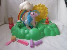 Vintage My Little Pony Waterfall with Sprinkles and Duck Soup