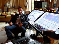 Mark Needham has a ball mixing in The Ballroom.