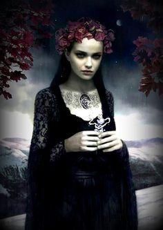 I love fantasy and gothic art