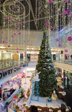 An Alpine wonderland will take centre stage at Lowry Outlet Mall.