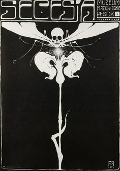 Secesja (czarna), Starowieyski Franciszek, Galeria Plakatu
