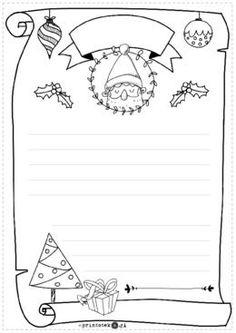 List do Mikołaja - wersja czarno-biała - Printoteka.pl Advent Calendar Gifts, Advent Calendars For Kids, Fall Crafts For Kids, Art For Kids, Kids Crafts, Christmas Colors, Christmas Art, Lego City Birthday, Christmas Cards Drawing