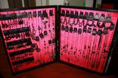 Fold - n - Go Pegboard Paparazzi Jewelry display.