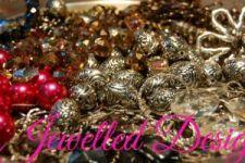 {Member Spotlight} Made by Hand Directory - Jewelled Designs Spotlight, Christmas Bulbs, Holiday Decor, Business, Handmade, Design, Christmas Light Bulbs, Hand Made, Craft