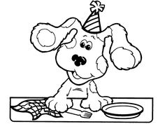 find this pin and more on celebrate its your day by emeraldmommy blues clues cleaning up coloring pages