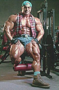 Muscle, specs and boots
