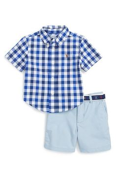 Ralph Lauren Shirt & Shorts Set (Baby Boys) available at #Nordstrom