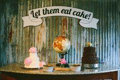 Creative Dessert Displays, Wedding Cakes Photos by Fine-Tooth Comb Weddings - Image 1 of 30 Wedding Cake Photos, Wedding Images, Wedding Venue Decorations, Wedding Decor, Wedding Set, Wedding Season, Perfect Wedding, Dream Wedding, Wedding Ideas