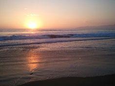 Sunset in Grover Beach