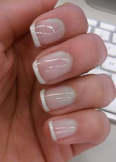 Shellac French Manicure a la POLISHED BEAUTY BAR