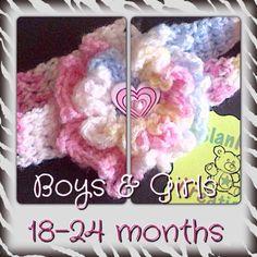 Bella's Boys & Girls headband (18-24 months)
