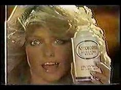In staying with the theme of American Passion yesterday and today here's Farrah Fawcett doing a commercial from the This is a good fit for every man cave television. Celebrity Singers, Farrah Fawcett, Retro Ads, News Anchor, I Remember When, Yesterday And Today, Old Tv, Tv Commercials, Sweet Memories