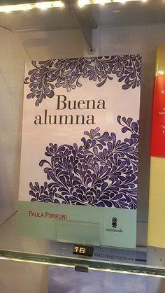 """""""Buena alumna"""" de Paula Porroni. Minúscula"""